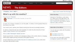 BBC the editors